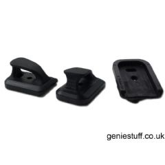 3 x Element Base Speed Plate for Airsoft G17, G18, G19, G26